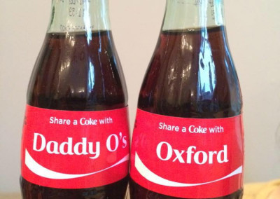 Share a Coke at Daddy O's in Minot, ME